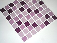 Mosaic tile transfers stickers - self adhesive - EASY DIY - transforms No tiling