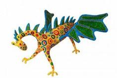 como hacer un alebrije dragon