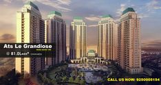 Under Construction project ATS Le Grandiose at Sector 150 Noida by ATS Infrastructure Ltd. Residential property Starting from Only.