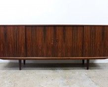 Danish rosewood sideboard www.thevintageshop.co.nz