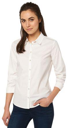 Chemisier féminin - feminine basic blouse de TOM TAILOR