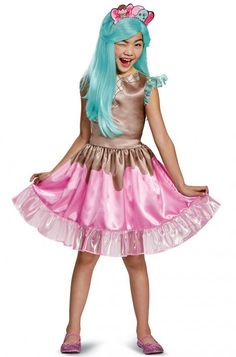 Kids Girls Peppa-Mint Costume - Shopkins Size S Halloween Multi-Colored Blue Costumes, Girl Costumes, Adult Costumes, Children Costumes, Costume Ideas, Halloween Costumes For Teens, Halloween Fancy Dress, Group Halloween, Creepy Halloween