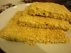LCHF Liv utan socker: Recept - LCHF Sesambröd