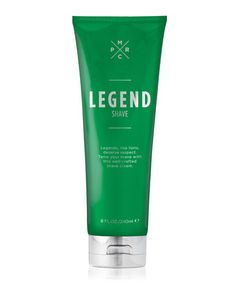 Shave Legend Scented men's shaving cream. Legends, like lions, deserve respect. Tame your mane with this well-crafted shave cream. It glides on smooth and helps protect against razor bumps so you can prowl with confidence.  Pure Romance by Christine Wilcox 979-824-2647 www.pureromance.com/christinewilcox