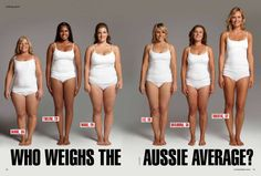Each of these women weighs the exact same weight. A great reminder to not let a number make you feel like crap.