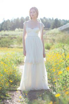 Gaetane wedding dress, from Mignonne Handmade