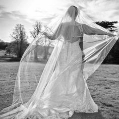 Pick that perfect veil. Photo taken at Maften Hall North East England. www.ohhsewbeautiful.com