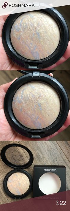 Mac Lightscapade Mineralize SkinFinish Mac Mineralize SkinFinish in Lightscapade Gently used. Authentic. Downsizing my makeup collection. Please view all photos for details. No trades or holds. MAC Cosmetics Makeup Luminizer