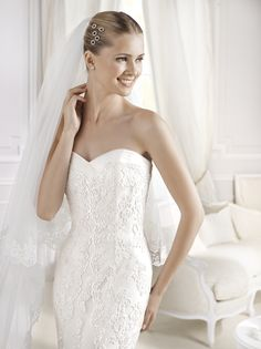 Mullet-wedding dress,La Sposa Collection at Michelangela Bridal Boutique www.michelangela.co.za