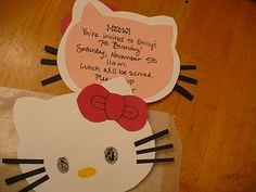 Cute Hello Kitty party ideas