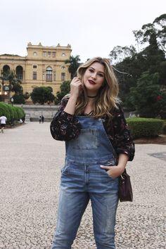 Look do dia: Macacão jeans — Niina Secrets