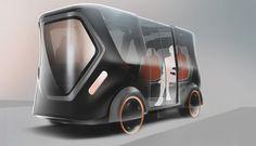 EVA / Everyone's Vehicle Assistant on Behance
