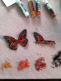 Monarch butterfly - https://www.etsy.com/shop/WizardIslandDesigns/