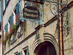 Ausleger der Brauerei Kessmann in Bamberg