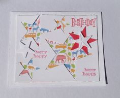 Handmade Paper Birthday Greeting Card by Scrapbooker429 on Etsy, $3.75 https://www.etsy.com/listing/151827406/handmade-paper-birthday-greeting-card?ref=shop_home_active_12