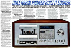 Vintage audio cassette deck collection - 1001 Hi-Fi The Stereo Museum