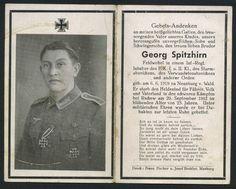 orig. WK2 STERBEBILD - DEATH CARD - TOP FOTO - EK1 + EK2 sichtbar - Rschew 1942