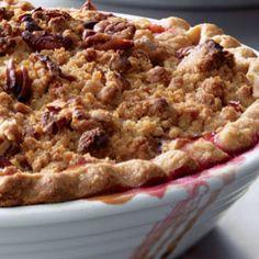 Deep-Dish Winter Fruit Pie With Walnut Crumb | Recipe | Fruit pie and ...