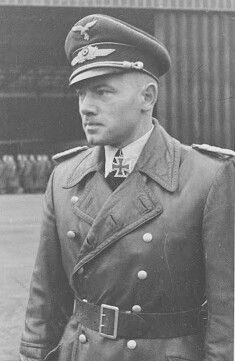 ✠ Rudolf Mons (2 October 1914 - 26 November 1943) Killed in an anti shipping sortie over the Mediterranean. RK 18.09.1941 Oberleutnant Flugzeugführer i. d. I./KG 40