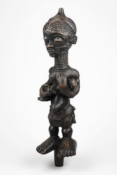 Democratic Republic of Congo - Luluwa Maternity Figure (Art Institute of Chicago)   by RasMarley