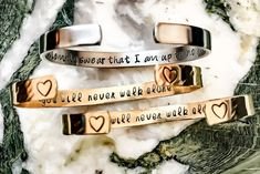 Your Name Here Gift Box Included Custom Bracelet Bridesmaid Jewelry, Bridesmaid Gifts, Wedding Bridesmaids, Metal Bracelets, Cuff Bracelets, Gifts For Him, Great Gifts, Double Infinity, Medical Symbols