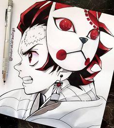Anime Art by Incredible Anime Artists: Welcome to Anime Ignite Anime Drawings Sketches, Anime Sketch, Manga Drawing, Manga Art, Manga Anime, Wie Zeichnet Man Manga, Demon Hunter, Anime Kunst, Slayer Anime