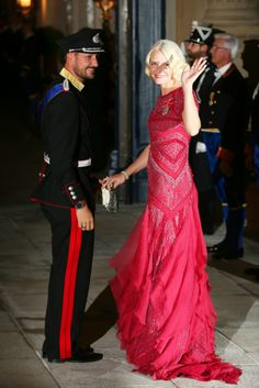 Crown Prince Haakon and Mette-Marit of Norway