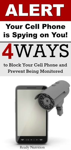 Make no mistake, you're cell phone is being monitored and there are ways to block it. phone, Alert: Your Cell Phone is Spying on You! 4 Ways to Block Your Cell Phone and Prevent Being Monitored Cell Phone Hacks, Iphone Hacks, Smartphone Hacks, Android Phone Hacks, Android Phones, Sprint Cell Phone Deals, Cell Phones In School, Cell Phone Service, Nutrition
