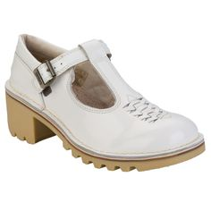 Women | White Womens Kopey T Weave Shoes | Get The label