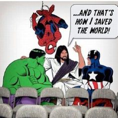 Being a Marvel super hero lover myself i can really appreciate this joke xD