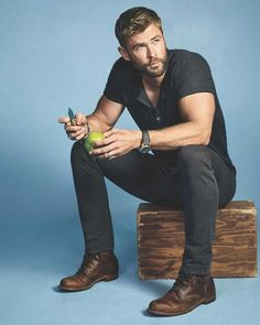 Chris Hemsworth for Men's Journal.