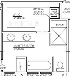Best Master Closet And Bath Floor Plan Ideas Master 400 x 300