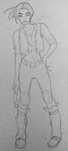 Film: Titan AE =====  Character: Akima (Design #2)