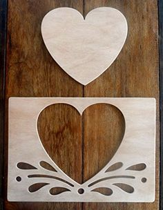 "Beautiful Hand Crafted MDF 'Heart Splash' Drawing Template / Stencil Set - 30cm X 21cm"" by Greg Ledder http://www.amazon.co.uk/dp/B00TDCQ2YO/ref=cm_sw_r_pi_dp_2ZHjvb0VCF0CZ"