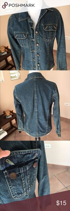 Jean Jacket Good condition! Any questions?? Make me offer. Thanks for view my closet! Bill Blass Jeans Jackets & Coats Jean Jackets