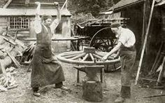 Image result for medieval wheelwrights