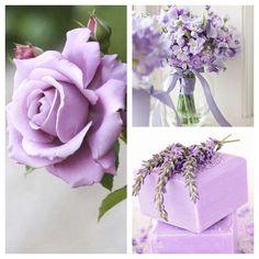 Delicato e impalpabile come un piumino di cipria, il lilla è davvero romantico!