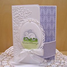 CC522 & CT0315 Wonder Bunny by Arizona Maine - Cards and Paper Crafts at Splitcoaststampers