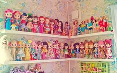 you might be a Blythe collecter, but, you might think differently after seeing THIS collection...