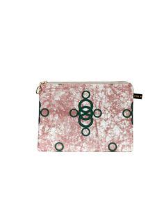 Ara II Pink Make-Up Bag #Makeupbag #africandesign, #africantextiles, #Evasonaike, #africanprints, #africanfashion, #popularpic, #luxury, #africanbag #picoftheday #picture #look #mytrendesire #cool #africandecor #decorating #design #Ekoeclipsecollection #ARA