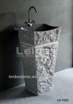 populaire ontwerp stenen gootsteen stenen sokkel bassin gootsteen