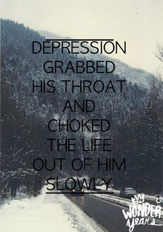 this saying specifically stood out, because this is what depression  does to a person. it changes them completely