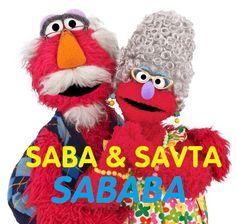 Saba and Savta are sababa (cool)!