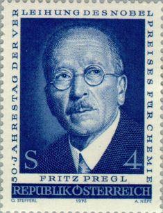 Pregl, Fritz (1869-1930) scientist, chemist, nobelprize