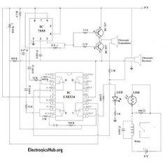 Temperature controlled fan circuit diagram | Electronic Circuits ...