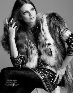 Eniko Mihalik Exudes Pure Elegance for the El Palacio de Hierro F/W 2012 Campaign by David Roemer #photography #eniko_mihalik david_roemer #el_palacio_de_hierro