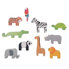 Stacking Jungle Animals | JoJo Maman Bebe