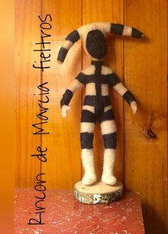 Selknam Easter Island, Punch Needle, Felting, Patagonia, Tigger, Textiles, Disney Characters, Diy, Folklore