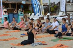 Naam yoga meditación lead by Gaby de la Rosa  in los Cabos Green fest  Thanks Manoma !