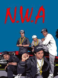 #NWA #compton